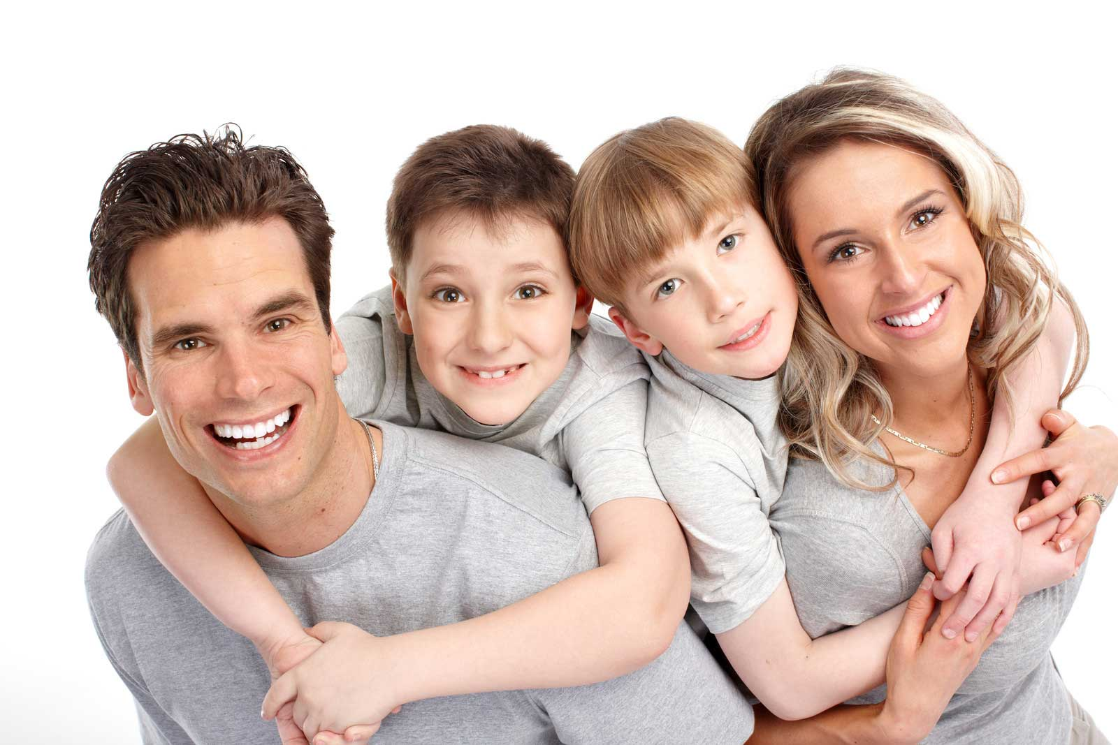 Highland Creek Dental | Scarborough Dentist | Dr. S. Razmavar | Family Smiling