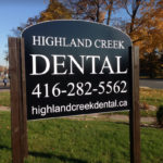 Highland Creek Dental - Signage